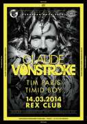 Claude Von Stroke presents Urban Animal Tour au Rex Club