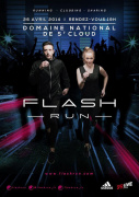 La Flash Run débarque au Domaine National de Saint Cloud