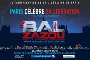 Bal de célébration des 70 ans de la libération de Paris sur le Parvis de l'Hôtel de Ville