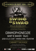 Swing is Swag au Cabaret Sauvage : Release Party Compil Electroswing VII