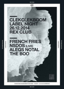 Clekclekboom au Rex Club avec French Fries