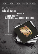 Ideal Juice au Rex Club avec John Dimas