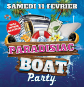 Paradisiac Boat Party au Concorde Atlantique