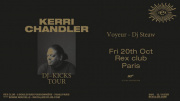 Kerri Chandler DJ Kicks Tour au Rex Club