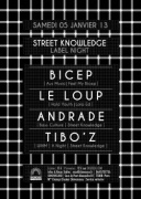 Street Knowledge au Showcase avec Bicep et Andrade