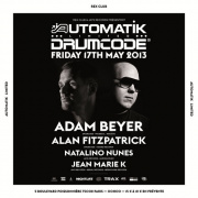 Automatik Limited Speciale Drumcode Night au Rex Club