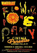 Cinema Paradiso SuperClub : The Wanderlust Flower Power Party au Grand Palais