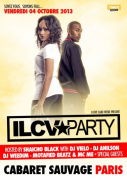 ILCV Party Hosted by Shaicho Black au Cabaret Sauvage
