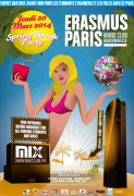 Erasmus Paris : Spring Break Party