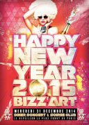 HAPPY NEW YEAR 2015 BIZZ'ART