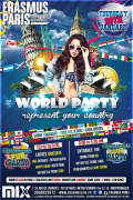 Erasmus Paris : World Party