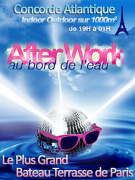 AFTERWORK @ LA VOILE PARISIENNE BIG OPENING PARTY