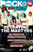 MyROCK BATTLE Vol.2 avec BETRAYING THE MARTYRS