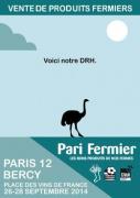 Pari Fermier à Bercy 2014, Place des vins de France