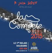 La Compète de Paris 2015, la course relais au profit de La Chaîne de l'Espoir