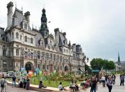 Les Jardins éphémères sur le Parvis de l'Hôtel de Ville à Paris