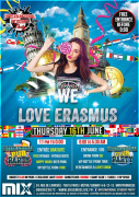 International Student Party : We love Erasmus