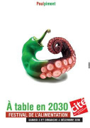 A table en 2030, le Festival de l'Alimentation de la Cité des Sciences