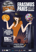 Erasmus Paris : Halloween After Party