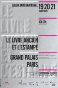 Livre ancien, Estampe, Grand Palais, Paris, Objet du scandale, salon