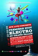 SFR, SFR live concerts, Grand Palais, Paris, Concerts, Etienne de Crécy. Birdy Nam Nam, BNN
