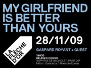My gilrfriend is better than yours, Concert, Paris, Fleche d'Or