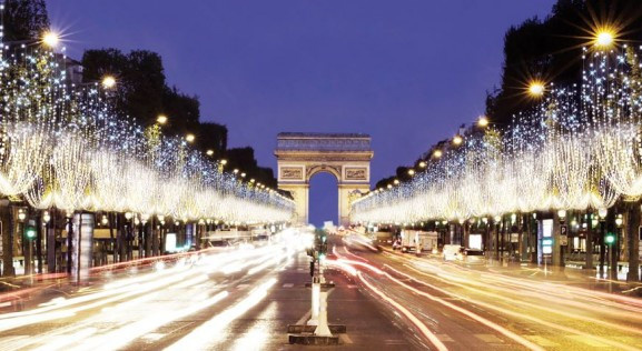 Les nouvelles illuminations des Champs-Elysées