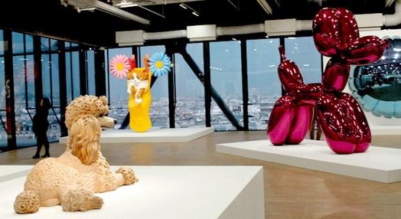 Jeff Koons au Centre Pompidou !