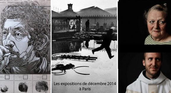 Les expositions de décembre 2014 à Paris