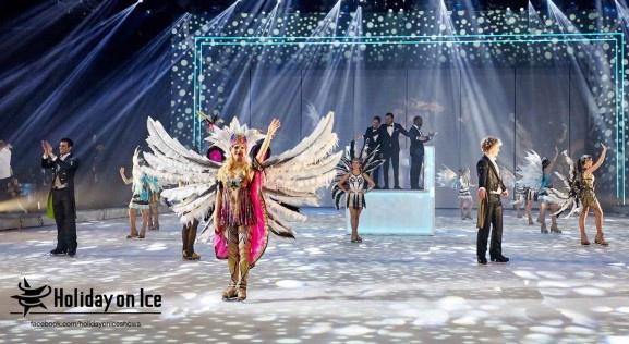 Hollyday on Ice au Zénith de Paris