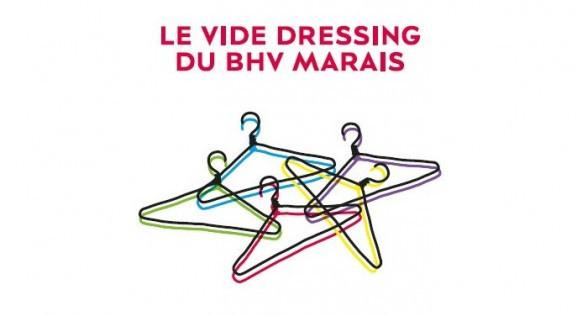 Le Vide dressing du BHV Marais, c'est parti !