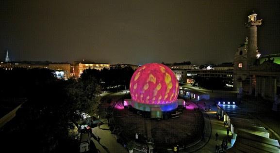 La ViennaSphere à Paris