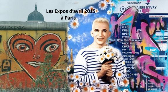 Les expositions d'avril 2015 à Paris
