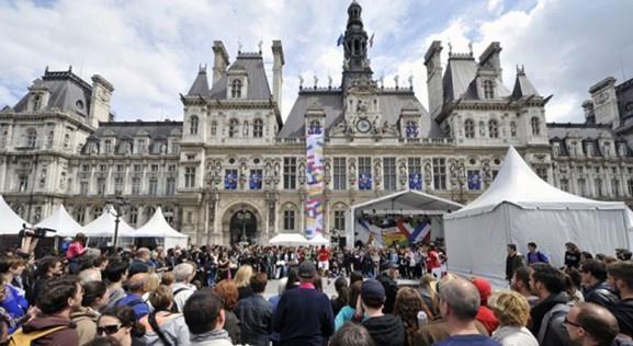 La Fête de l'Europe 2015 à Paris