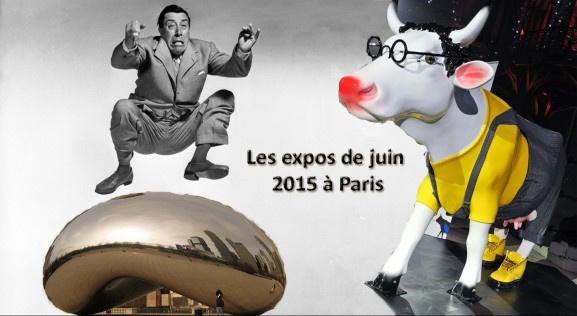 Les expositions de Juin à Paris