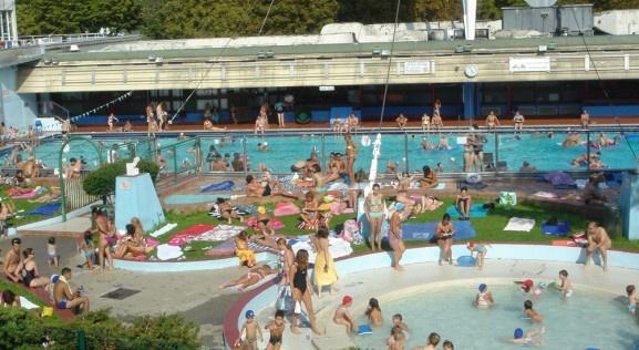 Les piscines découvertes à Paris