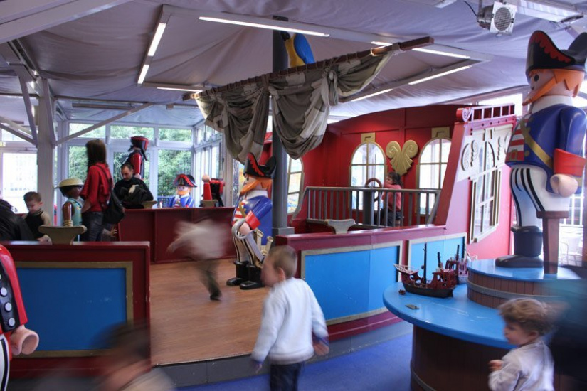 bateau pirates,playmobil funpark