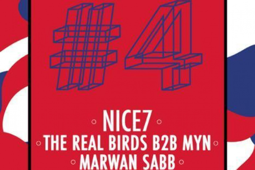 Red Label #4 w/ Nice7, The RealBirds, Myn & Marwan Sabb
