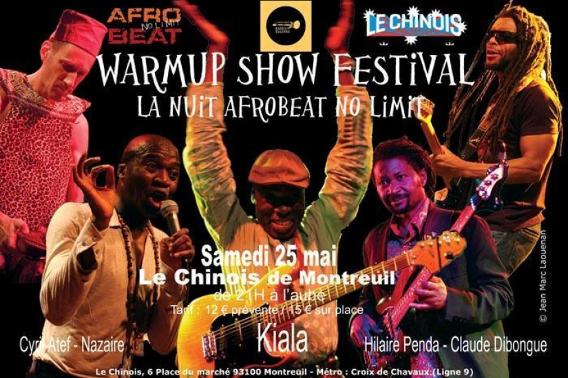 WarmUp Show Festival : La nuit Afrobeat No Limit