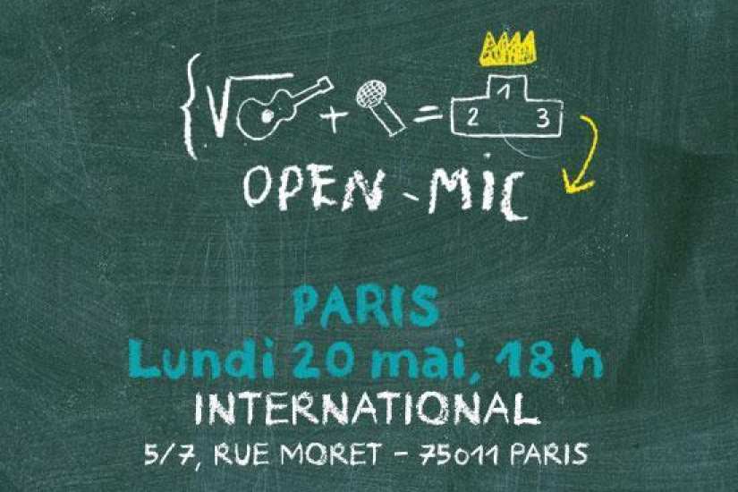 "Open-mics ""Sosh aime les Inrocks lab"""