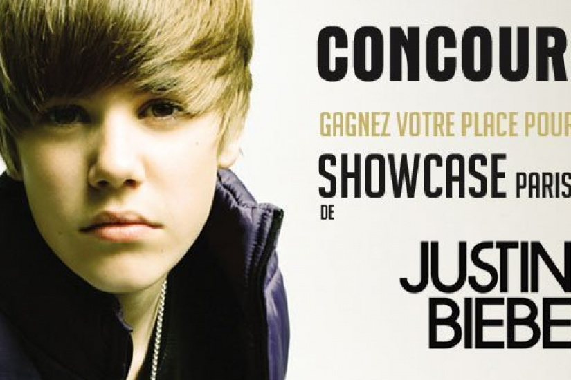 Concours Justin Bieber