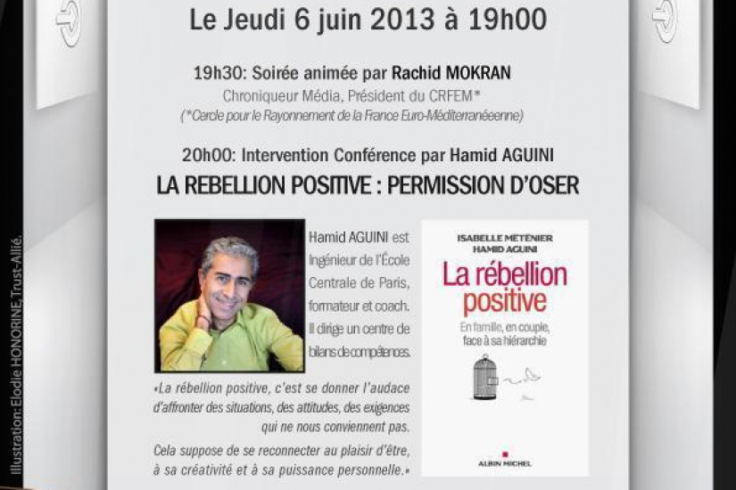 Soirée networking : LA REBELLION POSITIVE - PERMISSION D'OSER