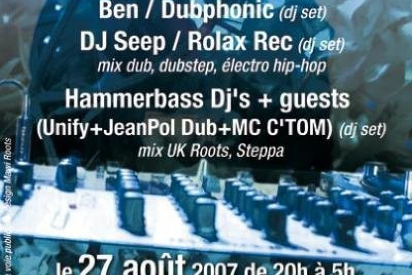 Summer mondays parties : Carte Blanche à Dubphonic