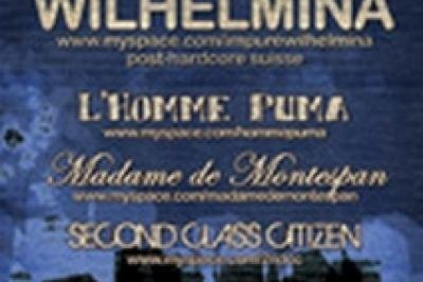 Impure Wilhelmina + L'homme puma + Madame de Montespan + Second Class Citizen