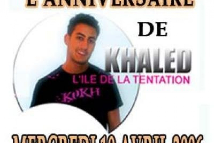 KHALED BIRTHDAY