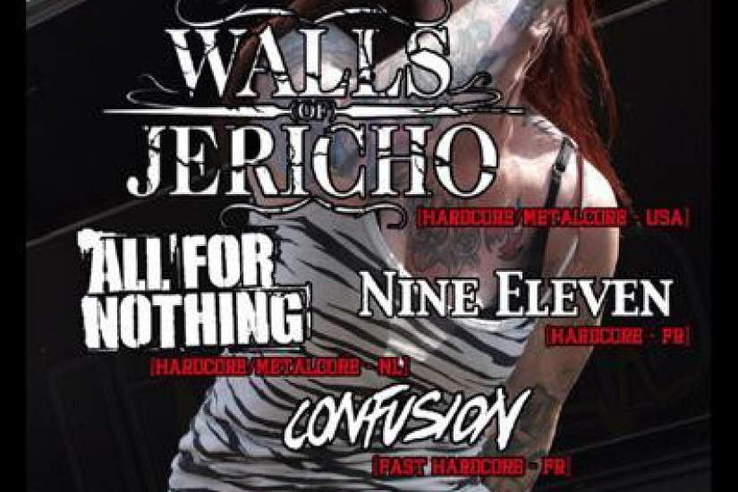 Walls Of Jericho + All For Nothing + Nine Eleven + Confusion