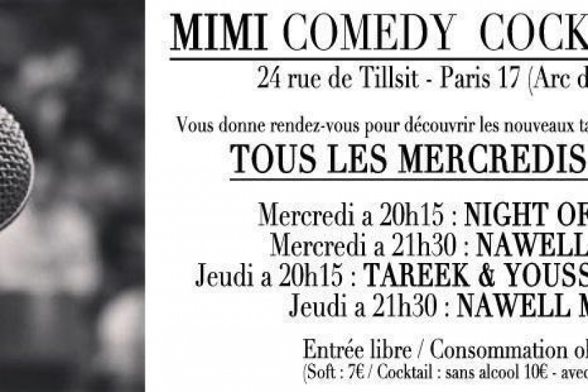 Le Mimi Comedy Cocktail Club