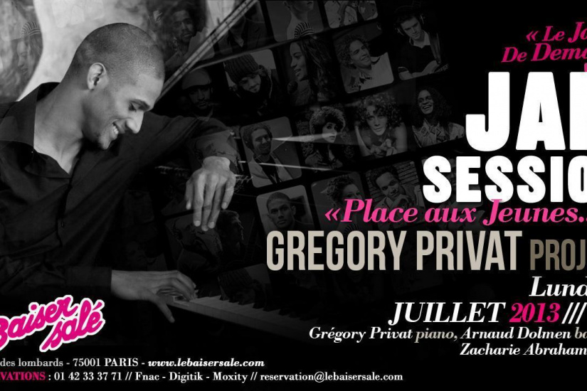 JAM SESSION GREGORY PRIVAT PROJECT