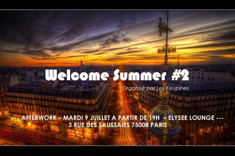 Welcome Summer Afterwork #2