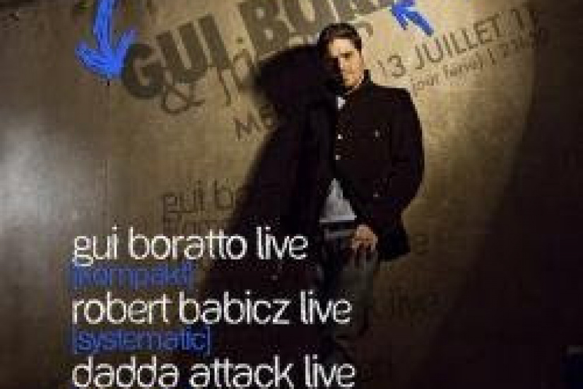 Gui Boratto & Friends,  Showcase, Soirée